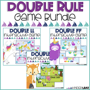 Double Letters - Interactive Game - BUNDLE