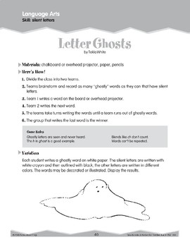 Double Letters/Silent Letters (Ten-Minute Activities)
