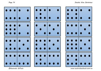 Double Nine Dominoes and Activity Cards