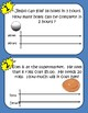 Double Number Line Task Cards