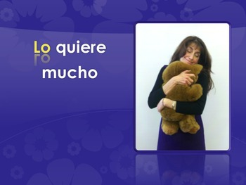 Spanish Double Object Pronoun TPR Story and PowerPoint