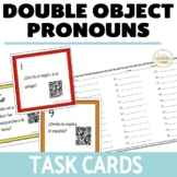 Direct Object Pronouns and Indirect Object Pronoun Task Cards in Spanish