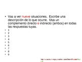 Double Object Pronouns Interactive Quiz, Spanish - (review)
