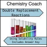 Double Replacement Reactions with Answer Key