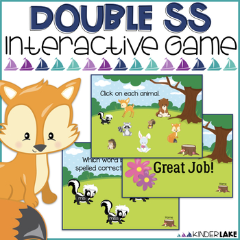Final Double Letters: ss Interactive Game
