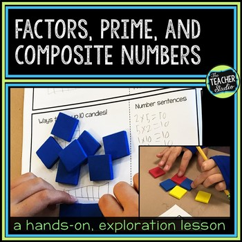 Double Scoop Lesson:  Introducing Arrays, Factors, and Prime Numbers