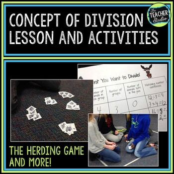 Double Scoop Lesson:  Introducing Division Concepts--Grades 3 and 4