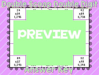 Double Scoop of Double Digit Multiplication (2x2 Multiplication)