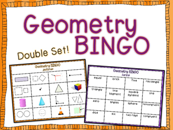 Double-Set Geometry Bingo