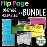 Double-Sided One Page Foldables (Flip Pages) BUNDLE