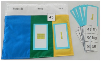 Double Sided Math Mat (Place Value, Numbers, Counting, Odd, Even)