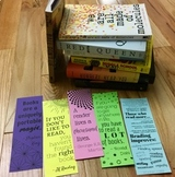 Double Sided Reading Bookmarks (Inspiring Quotes/Encouragi