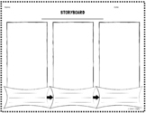 Storyboard Graphic Organizer, Double-Sided (With Fillable PDF)
