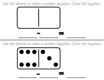 Double Six Dominoes Math