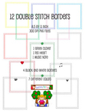 Double Stitch Borders by Teaching for Fun Commerical Use OK