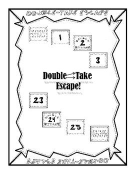 Double-Take Escape: All Year Reinforcement Tool, Test Prep