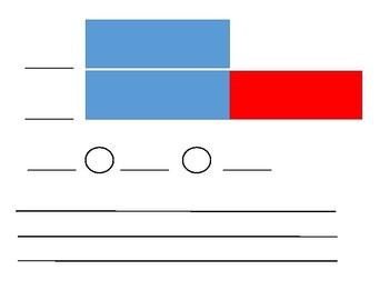 Double Tape Diagram Plastic Sleeve Insert