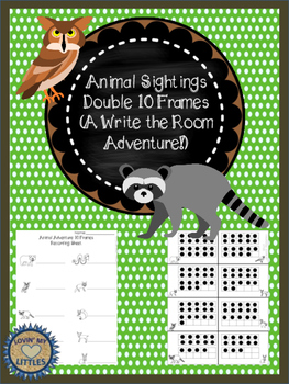 Double Ten (10) Frame Animal adventure write the room
