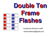 Double Ten Frame Flashes- Doubles Facts