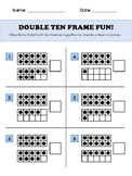 Double Ten Frame Fun Worksheet