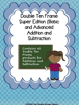 Double Ten Frame - Super Pack