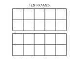 Double Ten Frame Template
