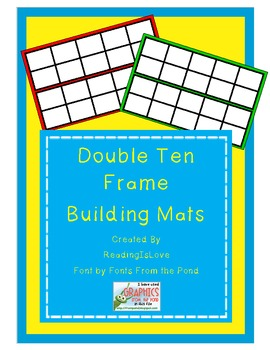 Double Ten Frame (Twenty Frame) Building Mats