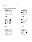 Double Ten Frames Subtraction