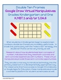 Double Ten Frames - Virtual Manipulative for Google Chrome - K.NBT.1 & 1.OA.6