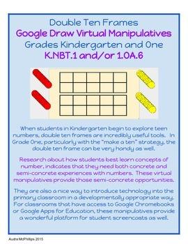 Double Ten Frames - Virtual Manipulative for Google Chrome - K.NBT.1 & 1.OA.6
