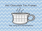 Double Ten-Frames for Teen Numbers- Hot Chocolate Theme