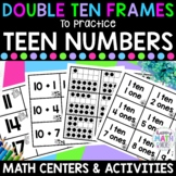 Double Ten Frames to Practice Teen Numbers