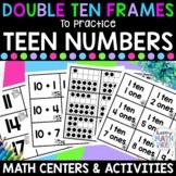 Double Ten Frames to Practice Teen Numbers