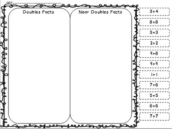 Double This, Double That (a doubles and near doubles math activity pack)