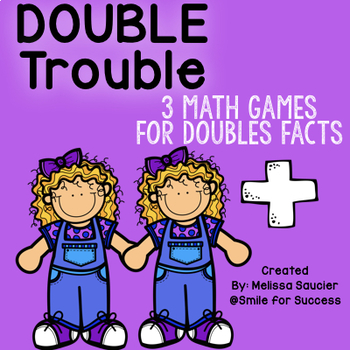 Double Trouble { 3 Doubles Facts Games!}