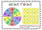 Double Trouble - A game to consolidate subtraction using doubles.