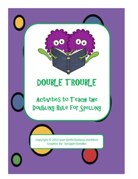Double Trouble! Activities to Teach the... by Dyslexia and more ...