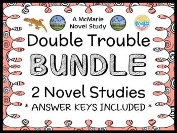 Double Trouble BUNDLE (Abby Klein) 2 Novel Studies / Reading Comprehension