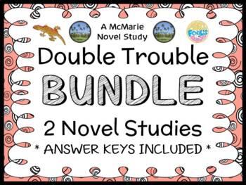 Double Trouble BUNDLE (Abby Klein) 2 Novel Studies / Readi