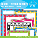 Double Trouble Borders - Graphics From the Pond
