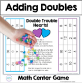 Valentines's Day Adding Doubles