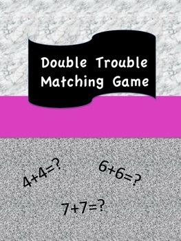 Double Trouble Matching Game