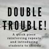 Double Trouble - Original Colored Sheet Music (Big Book of Modes)