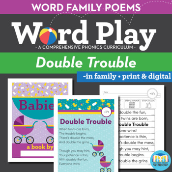 Double Trouble In Word Family Poem Of The Week Short Vowel I