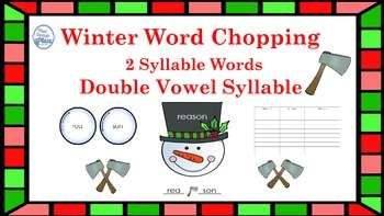 Double Vowel Syllables for Winter