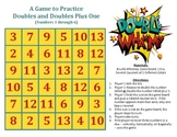 Double Whammy - A Game to Practice Doubles and Doubles Plus 1 (1 through 6)