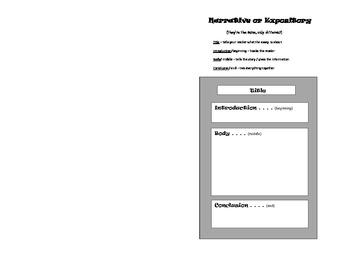 Double-Whamy Graphic Organizer Insert