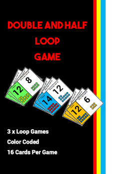 Double and Half Loop Math Game
