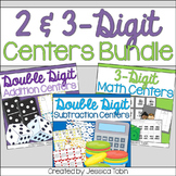 2-Digit and 3-Digit Addition and Subtraction Centers