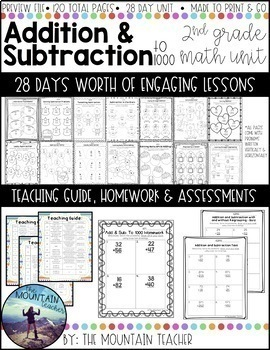 Addition and Subtraction to 1000 Unit